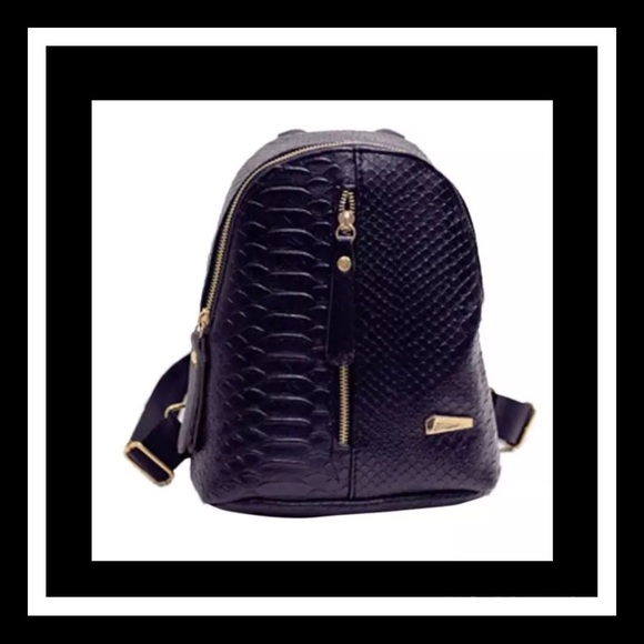 Handbags - Last 1 Super cute black mini backpack